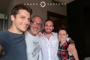 Luca Ward collaborates with Chaos Factory