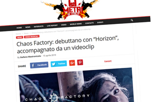 Chaos Factory on Metal In Italy