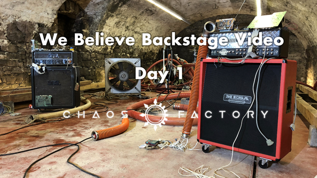 We believe backstage - Day 1