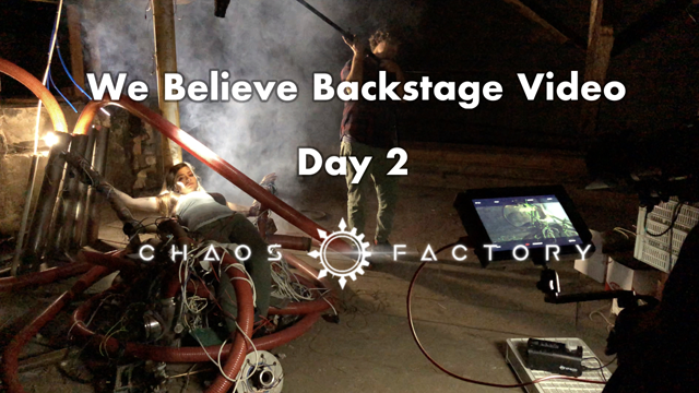 We believe backstage - Day 2